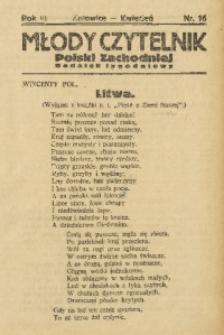 Młody Czytelnik Polski Zachodniej, 1929, R. 3, nr 16