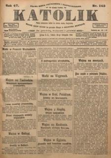Katolik, 1914, R. 47, nr 143
