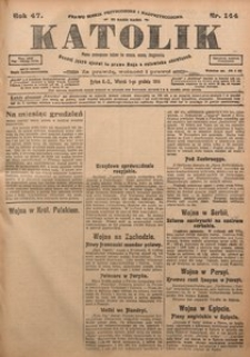 Katolik, 1914, R. 47, nr 144