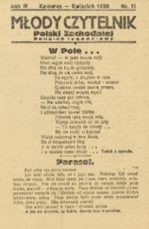 Młody Czytelnik Polski Zachodniej, 1930, R. 4, nr 11