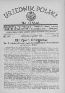 Urzędnik Polski na Śląsku, 1935, R. 12 [właśc. 11], nr 200