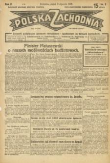 Polska Zachodnia, 1930, R. 5, nr 3