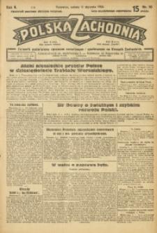 Polska Zachodnia, 1930, R. 5, nr 10