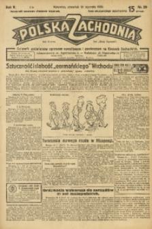 Polska Zachodnia, 1930, R. 5, nr 29
