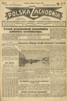 Polska Zachodnia, 1930, R. 5, nr 38
