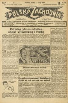 Polska Zachodnia, 1930, R. 5, nr 45