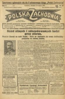 Polska Zachodnia, 1930, R. 5, nr 89