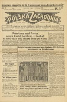 Polska Zachodnia, 1930, R. 5, nr 94