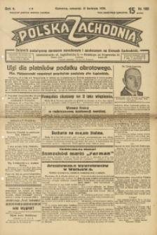 Polska Zachodnia, 1930, R. 5, nr 100