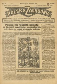Polska Zachodnia, 1930, R. 5, nr 108