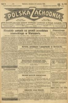 Polska Zachodnia, 1930, R. 5, nr 115