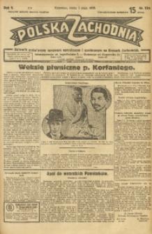 Polska Zachodnia, 1930, R. 5, nr 124