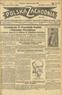 Polska Zachodnia, 1930, R. 5, nr 132