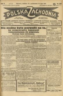 Polska Zachodnia, 1930, R. 5, nr 140