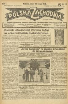 Polska Zachodnia, 1930, R. 5, nr 166