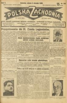 Polska Zachodnia, 1930, R. 5, nr 196