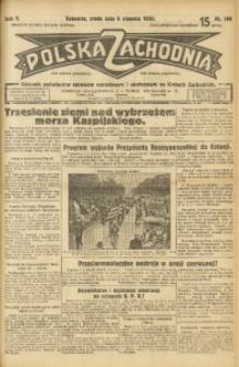 Polska Zachodnia, 1930, R. 5, nr 199