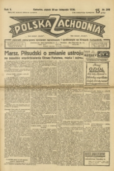 Polska Zachodnia, 1930, R. 5, nr 298