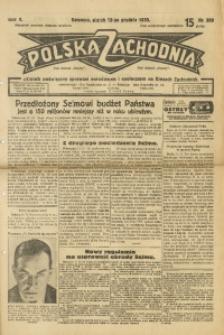 Polska Zachodnia, 1930, R. 5, nr 309