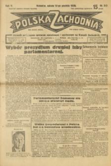 Polska Zachodnia, 1930, R. 5, nr 310