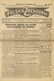 Polska Zachodnia, 1930, R. 5, nr 312