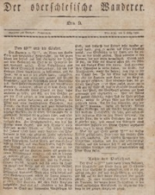 Der Oberschlesische Wanderer, 1834, Jg. 7, Nro. 9