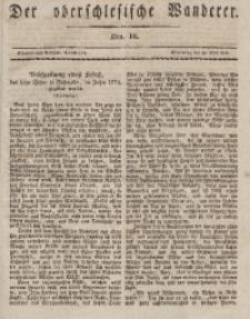 Der Oberschlesische Wanderer, 1836, Jg. 9, Nro. 16