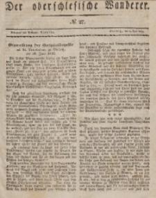 Der Oberschlesische Wanderer, 1838, Jg. 11, No. 27