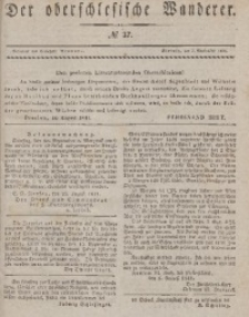 Der Oberschlesische Wanderer, 1841, Jg. 14, No. 37