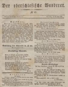 Der Oberschlesische Wanderer, 1844, Jg. 17, No. 17