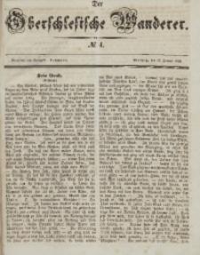 Der Oberschlesische Wanderer, 1846, Jg. 19, No. 4
