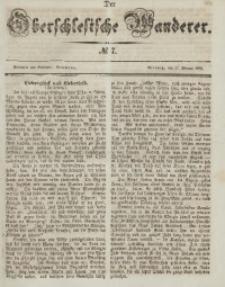 Der Oberschlesische Wanderer, 1846, Jg. 19, No. 7