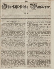 Der Oberschlesische Wanderer, 1846, Jg. 19, No. 51