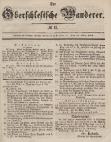 Der Oberschlesische Wanderer, 1853, Jg. 26, No. 12