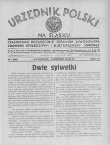 Urzędnik Polski na Śląsku, 1936, R. 12, nr 216