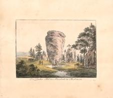 Der Zucker Hut in Adersbach in Boehmen