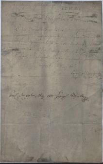 Pismo Leopolda Jana Szersznika jako zwierzchniego (diecezjalnego) nadzorcy szkolnego dla austriackiej części diecezji wrocławskiej z 25.03.1811 r....