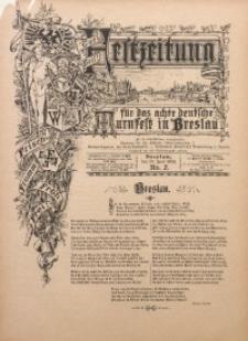 Festzeitung für das Achte Deutsche Turnfest Breslau, 1894, No. 2
