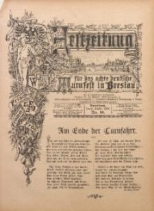 Festzeitung für das Achte Deutsche Turnfest Breslau, 1894, No. 10