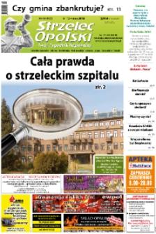 Strzelec Opolski : twój tygodnik regionalny : Strzelce Opolskie, Izbicko, Jemielnica, Kolonowskie, Leśnica, Ujazd, Zawadzkie, Toszek 2018, nr 10 (965).