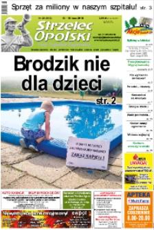 Strzelec Opolski : twój tygodnik regionalny : Strzelce Opolskie, Izbicko, Jemielnica, Kolonowskie, Leśnica, Ujazd, Zawadzkie, Toszek 2018, nr 28 (983).