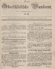 Der Oberschlesische Wanderer, 1858, Jg. 31, No. 20