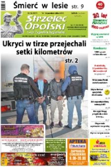 Strzelec Opolski : twój tygodnik regionalny : Strzelce Opolskie, Izbicko, Jemielnica, Kolonowskie, Leśnica, Ujazd, Zawadzkie, Toszek 2018, nr 42 (997).