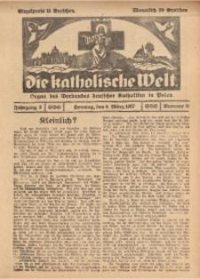Die Katholische Welt, 1927, Jg. 3, Nr. 10