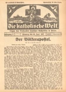 Die Katholische Welt, 1927, Jg. 3, Nr. 26