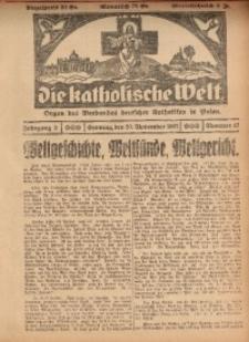 Die Katholische Welt, 1927, Jg. 3, Nr. 47