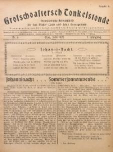 Grofschoaftersch Tonkelstonde, 1925, Jg. 1, Nr. 6