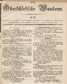 Der Oberschlesische Wanderer, 1861, Jg. 34, No. 47