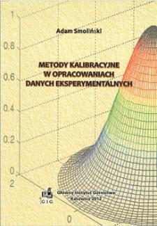 Metody kalibracyjne w opracowaniach danych eksperymentalnych