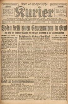 Der Oberschlesische Kurier, 1929, Jg. 23, Nr. 33